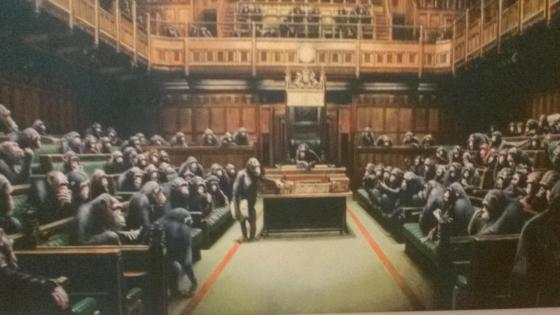 Monkey Parliament wallpaper