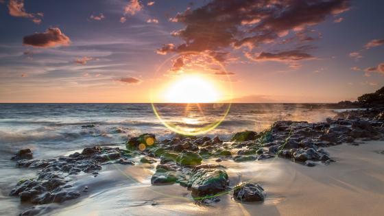 Hawaiian sunrise wallpaper