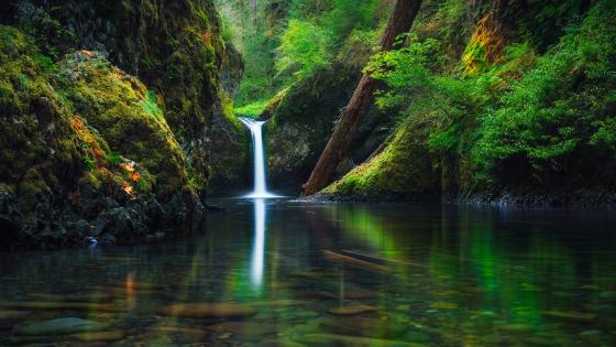 Punch Bowl Falls - Oregon wallpaper