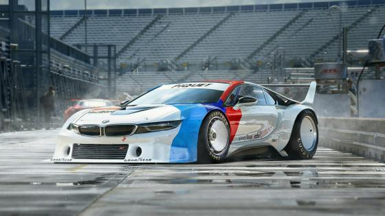 BMW i8 Racing Car wallpaper