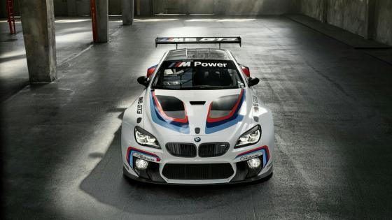 BMW M6 GT3 Racing Car wallpaper