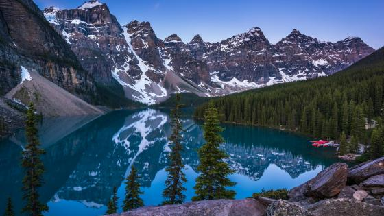 Moraine Lake -  Banff National Park, Alberta wallpaper