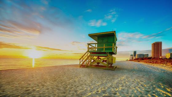 Miami Beach -  Florida ⛱ wallpaper