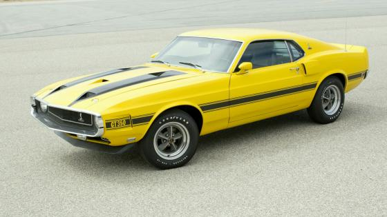 1969 Ford Mustang Shelby GT-350 wallpaper
