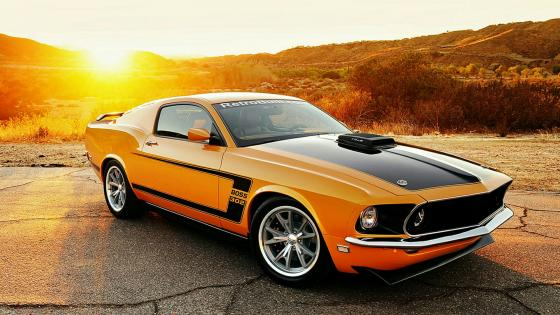 1969 Ford Mustang Boss 302 wallpaper