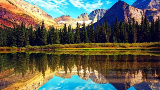 Glacier National Park In Montana wallpaper