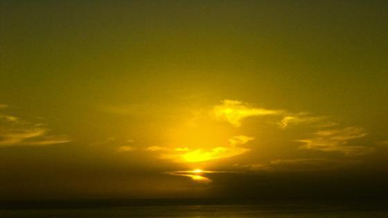 Sunset La Palma wallpaper