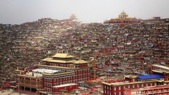 Larung Gar Buddhist Academy wallpaper