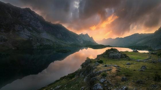 Valle de Lago - Asturias, Spain wallpaper