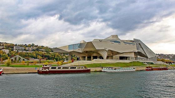 Musee des Confluences (Lyon, France) wallpaper