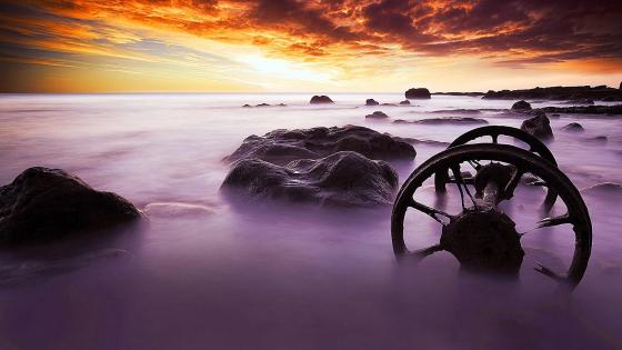 Seaham Wheels  - Chemical Beach wallpaper