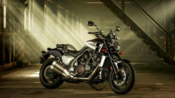Yamaha VMAX Motorcycle wallpaper