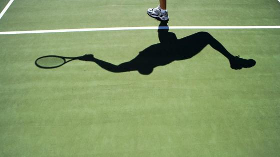Tennis Shot wallpaper