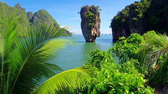 Ko Tapu (James Bond Island) wallpaper