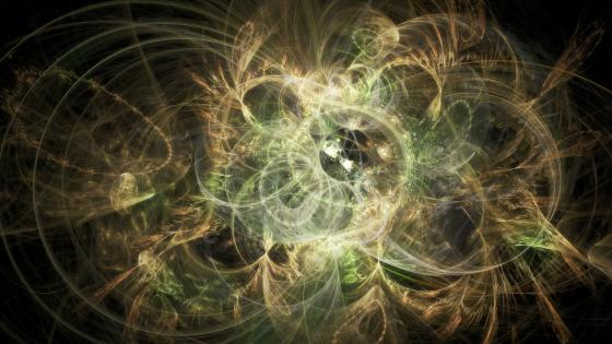 Luminosity - Fractal art wallpaper