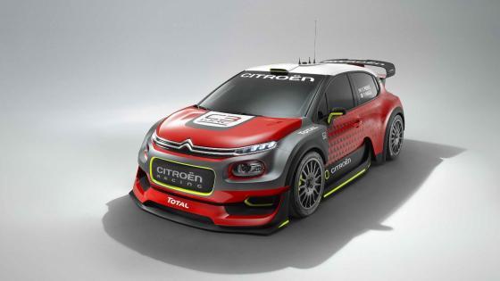C3 WRC wallpaper