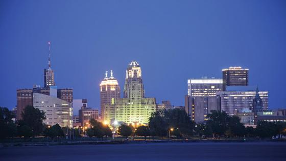 Buffalo Downtown wallpaper