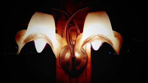 lampshade wallpaper