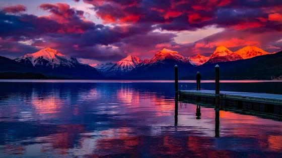Lake McDonald (Glacier National Park) wallpaper