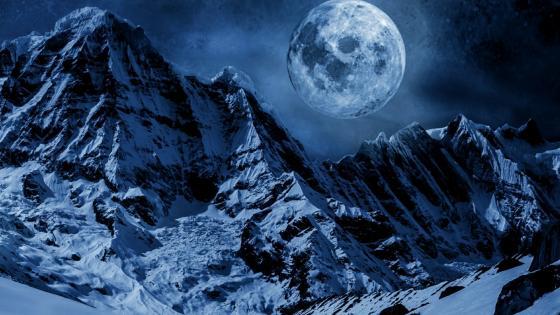 Annapurna Massif - Himalayas wallpaper