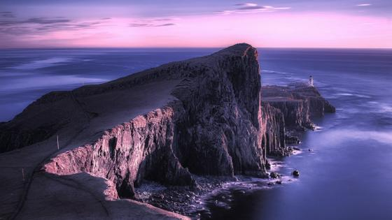 Neist Point Lighthouse - Scotland wallpaper