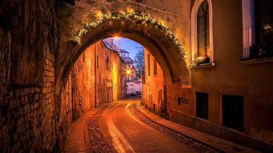 Vilnius Old Town - Lithuania wallpaper