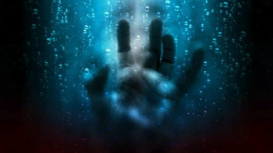 Horror hand wallpaper