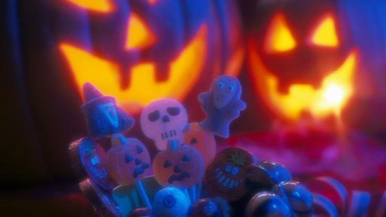 Halloween sweets  wallpaper
