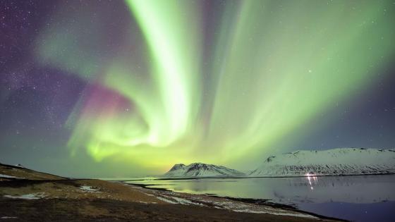 Aurora Borealis - Snaefellsnes, Iceland wallpaper