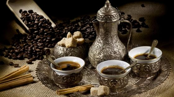 Turkish coffee wallpaper