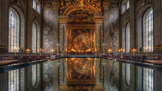 Old Royal Naval College - Lonndon wallpaper