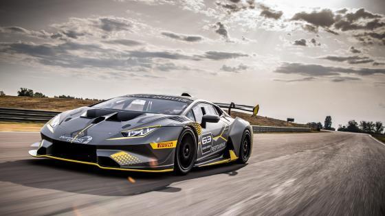 Lamborghini Huracán Super Trofeo EVO wallpaper