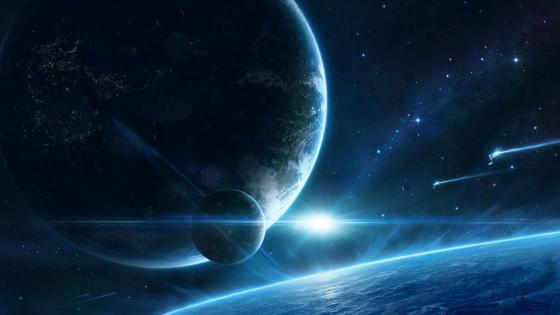 Fantasy planet art wallpaper
