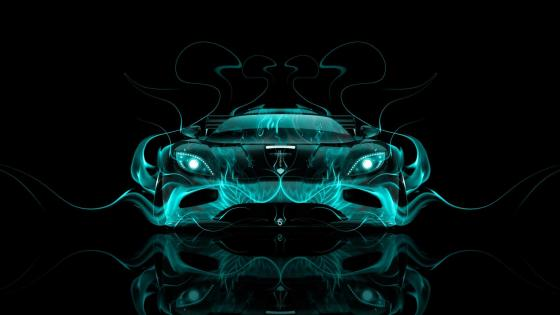 Fantasy car wallpaper