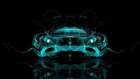 Fantasy car wallpaper