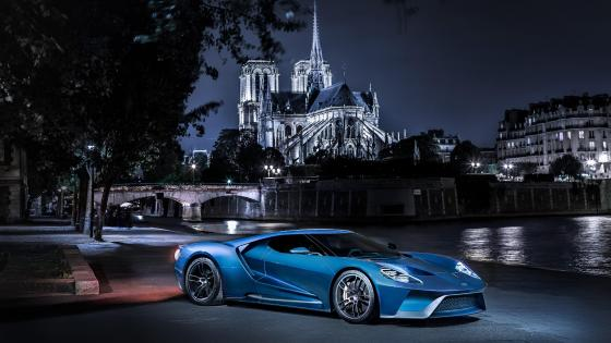 Ford GT supercar wallpaper