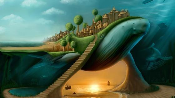 Surreal art wallpaper
