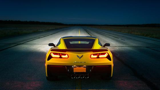 Chevrolet Corvette ZR1 C6 wallpaper