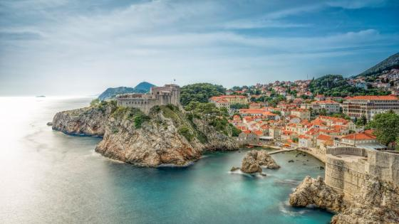 Fort Lovrijenac, Dubrovnik (Croatia) wallpaper