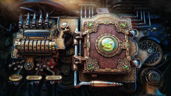 Steampunk - The Victorian Retro wallpaper