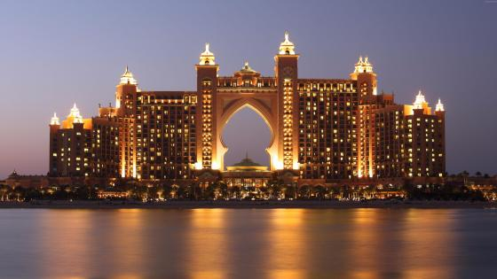Atlantis, The Palm in Palm Jumeirah (Dubai) wallpaper