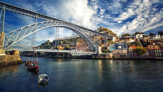 Dom Luís Bridge - Portugal wallpaper