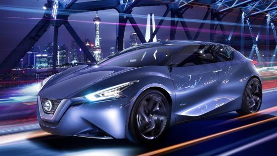 Nissan concept car wallpaper
