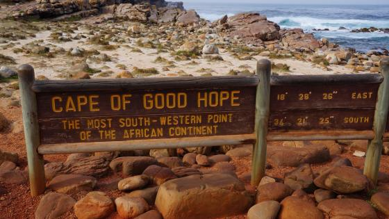 Cape of Good Hope - Table Mountain National Park (South Africa) wallpaper