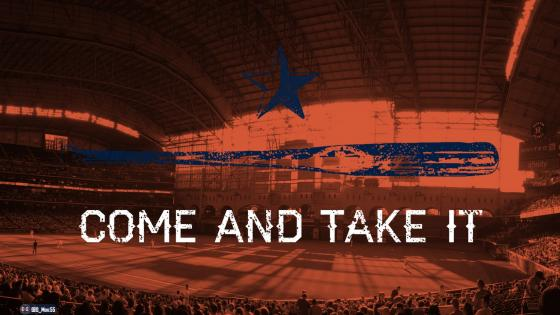 COME AND TAKE IT - Astros wallpaper