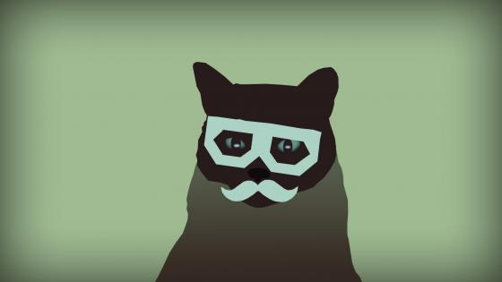 Dubstep Cat wallpaper