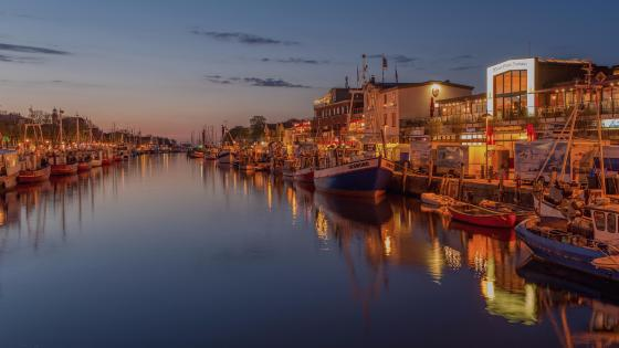 Rostock Harbor - Germany wallpaper