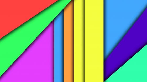 Colorful material design wallpaper