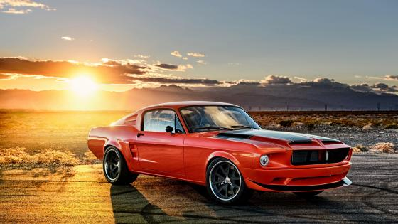 1968 Ford Mustang wallpaper
