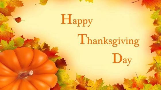 Happy Thanksgiving Day! wallpaper